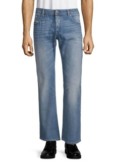 Diesel Flared Cotton Jeans