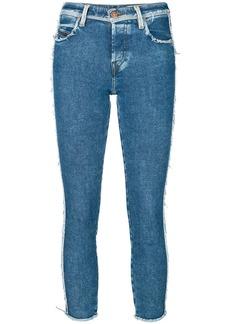 Diesel frayed detail skinny jeans - Blue