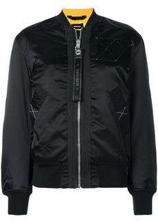 Diesel G-West-FL bomber jacket - Black
