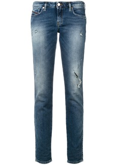 Diesel Graceyene distressed jeans - Blue