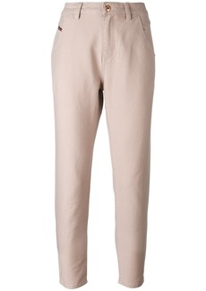 Diesel high-waisted trousers - Pink & Purple