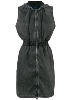 Diesel hooded denim dress - Grey