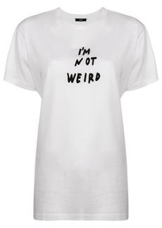 Diesel I'm Not Weird T-shirt