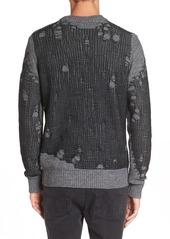 DIESEL® 'K-Eversus' Destroyed Sweater