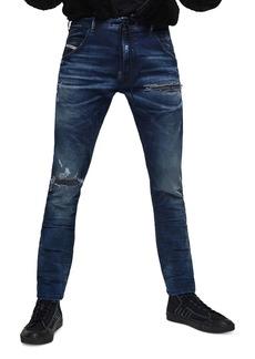 Diesel Krooley CB-NE Slim Fit Jogg Jeans in Denim