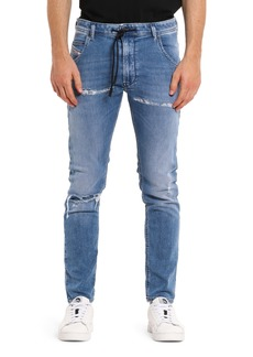 DIESEL® Krooley Jogg Shredded Slim Straight Jeans