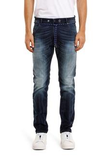 DIESEL® Krooley Jogg Slouchy Slim Straight Jeans (069IE)