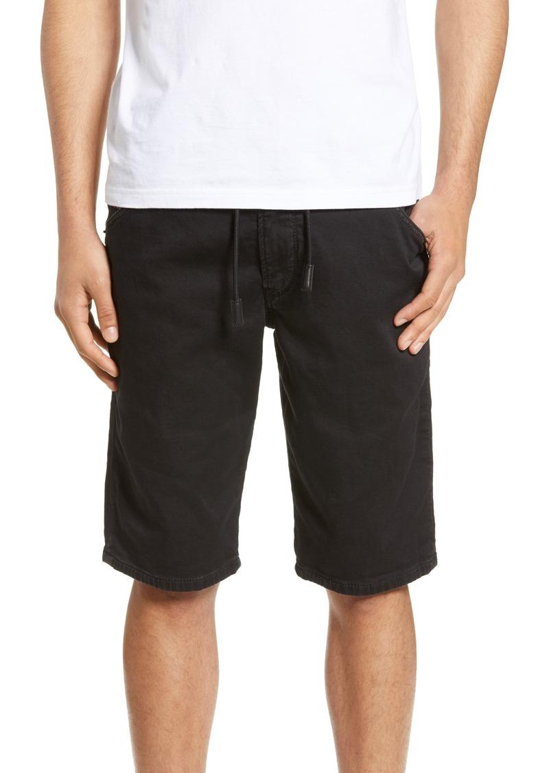 DIESEL® Krooshort Stretch Cotton Blend Jogger Shorts