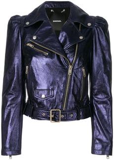 Diesel L-Sunset biker jacket - Blue