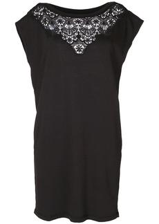 Diesel lace trim dress - Black