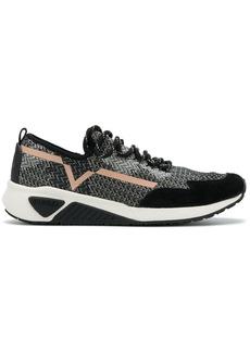 Diesel lace-up sneakers - Black
