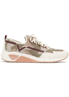 Diesel laced running sneakers - Nude & Neutrals
