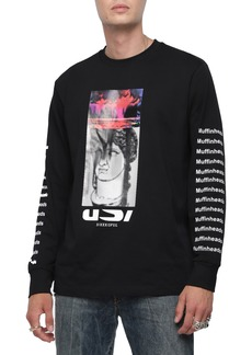 DIESEL® Large-X Graphic Long Sleeve T-Shirt