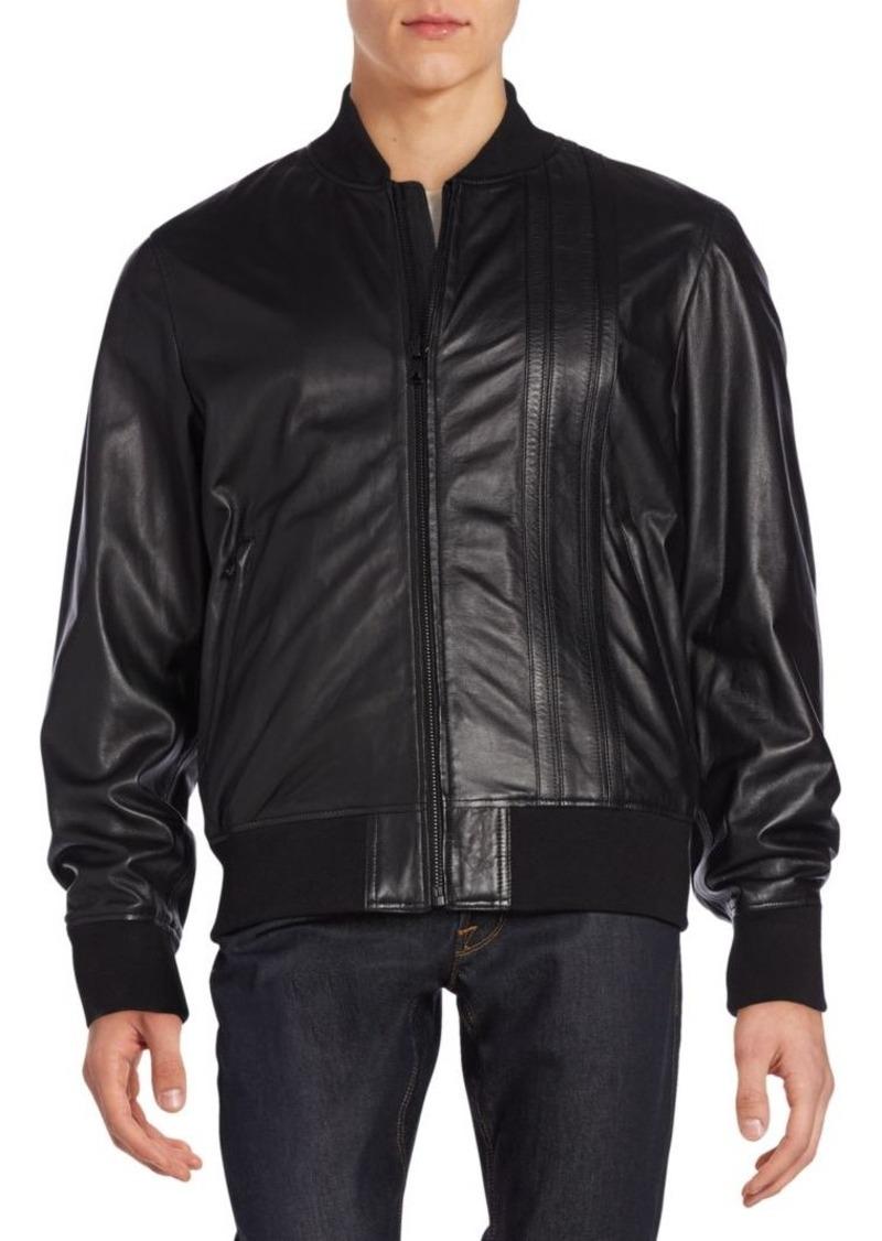 Diesel Leather Flight Jacket