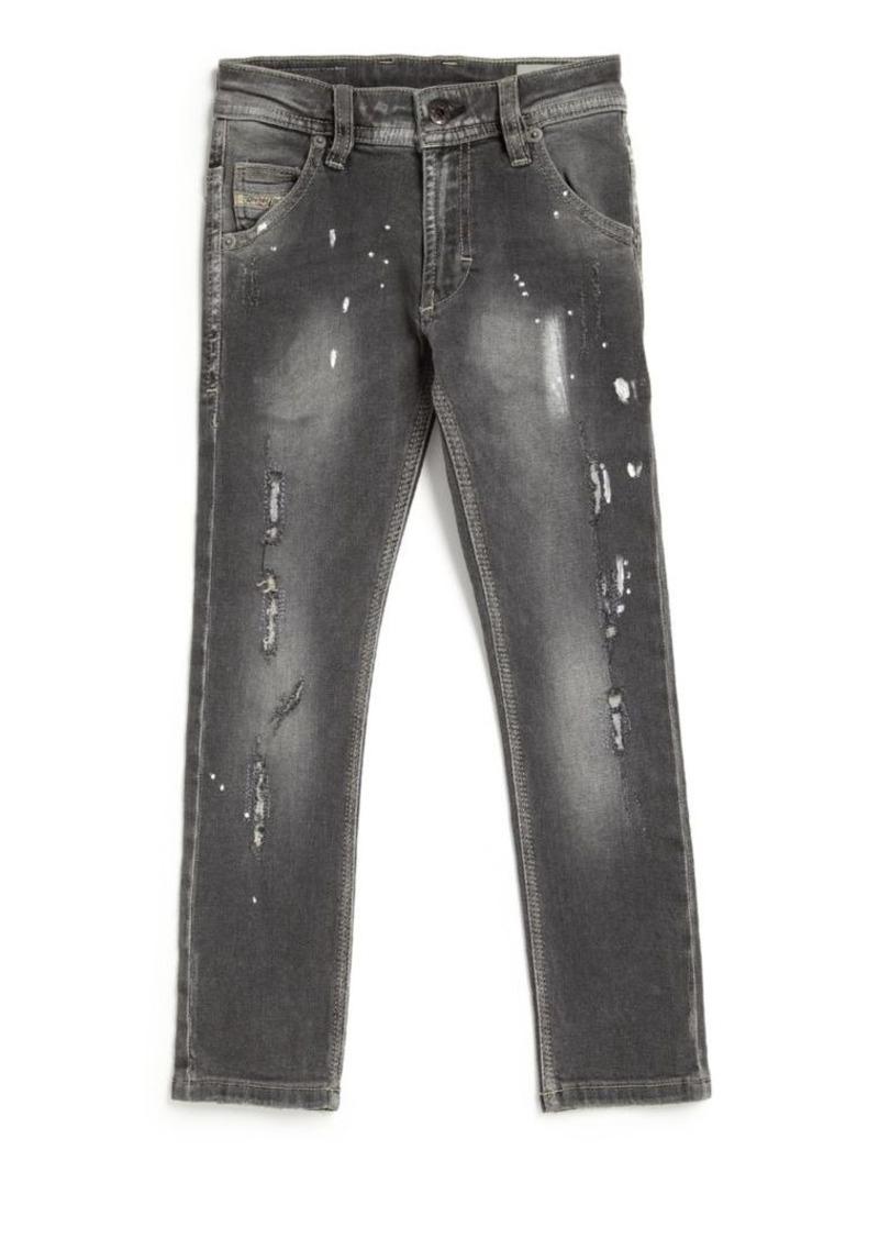 Diesel Little Boy's & Boy's Black Night Krooley Jeans