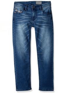 Diesel Boys' Little Straight Leg Jean Medium Blue JEBJ