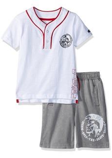 Diesel Little Boys' T-Shirt and Short Set