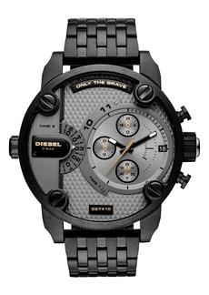 DIESEL® Little Daddy Chronograph Bracelet Watch, 52mm