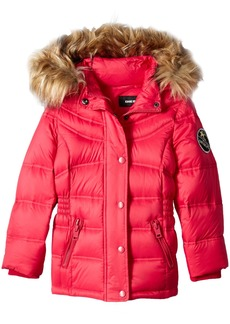 Diesel Little Girls' Outerwear Jacket (More Styles Available) Down Bubble-DS90H-Cherry
