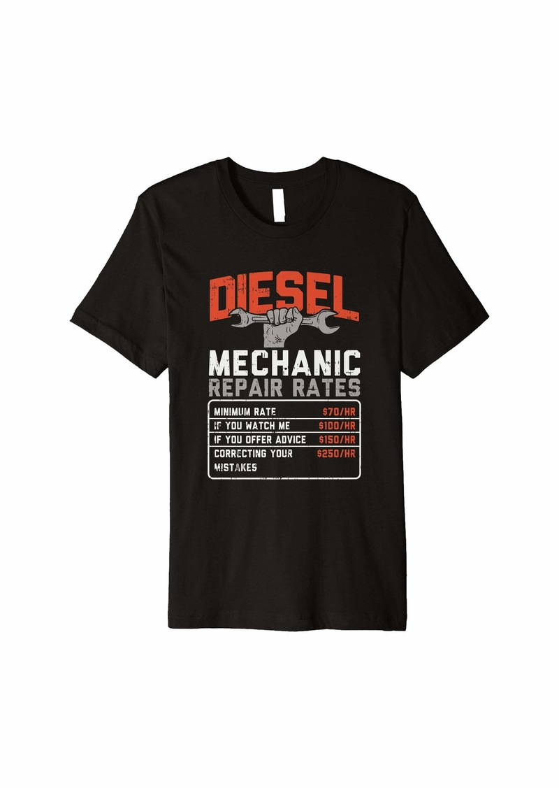 Diesel mechanic Auto mechanic gifts Diesel truck Premium T-Shirt