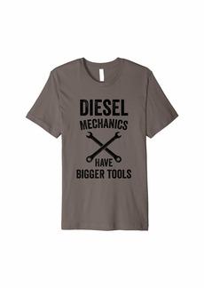 Diesel Mechanic Shirt   Funny Diesel Engine Mechanics Gift Premium T-Shirt
