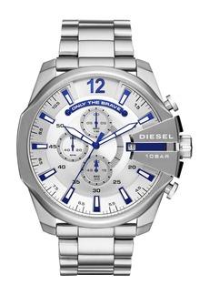 DIESEL® Mega Chief Chronograph Bracelet Watch, 51mm