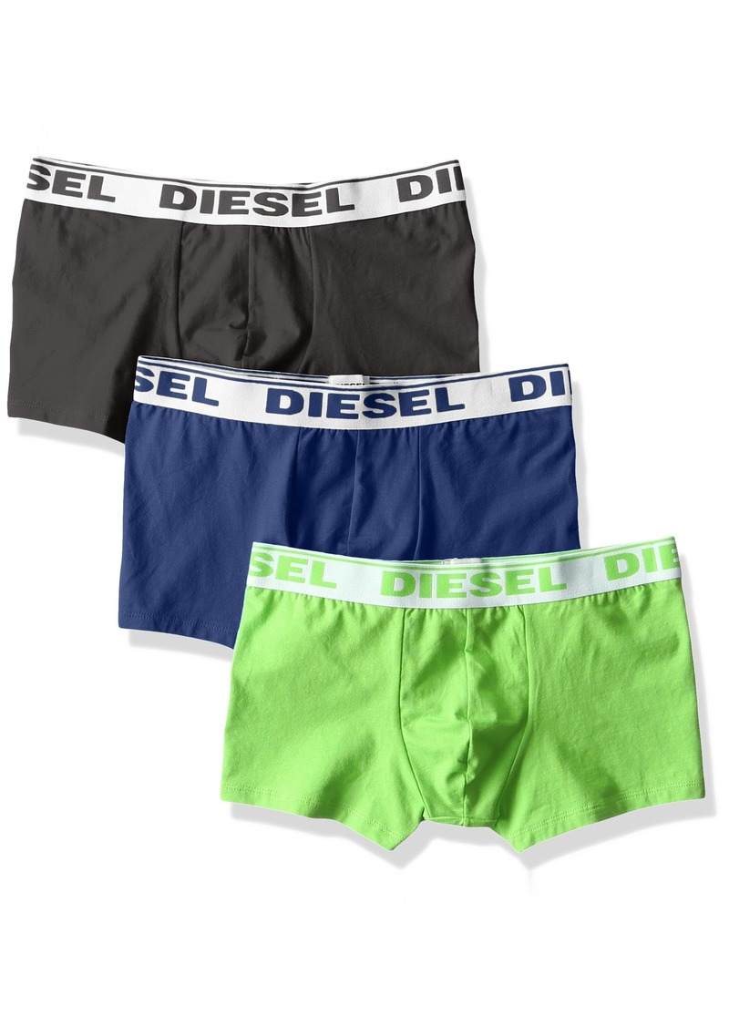 Diesel Mens 3-Pack Shawn Stretch Boxer Trunk