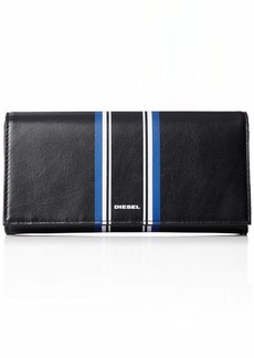 Diesel Men's ALONTE 24 A Day-Wallet black/turkish sea/white