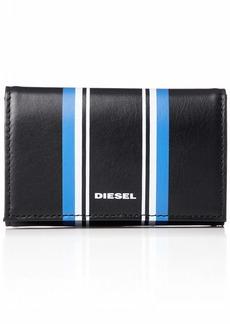 Diesel Men's ALONTE KEYCASE O-Keyring black/turkish sea/white
