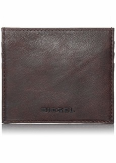 Diesel Men's ARSIE JOHNAS I Leather CARDHOLDER Wallet demitasse