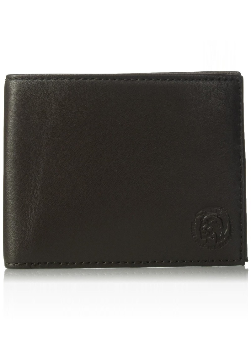 Diesel Men's Back-to-u Neela Leather Bifold Wallet