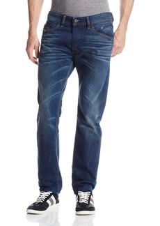 Diesel Men's Belther Regular Slim Tapered Leg Jean  28x30