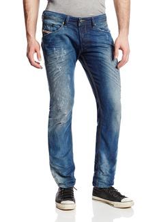 Diesel Men's Belther Tapered Slim Leg Jean N0828T Brown  34