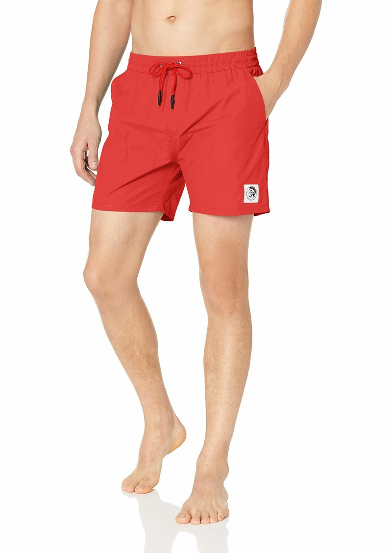 Diesel Men's BMBX-CAYBAY Shorts Berry/red S