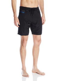 891d5921185 Diesel Diesel Men's BMBX-Waykeeki Thermo Tape Water Denim Swim Trunk |  Swimwear