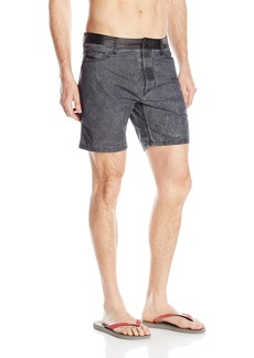 Diesel Men's BMBX-Waykeeki Treated Denim Swim Short