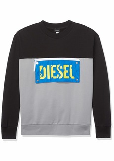 Diesel Men's BMOWT-BAYSEA Sweat-Shirt  M
