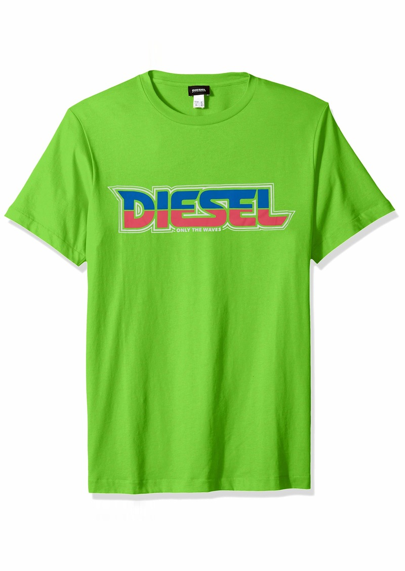 Diesel Men's BMOWT-JUST-B T-Shirt  S