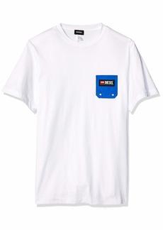 Diesel Men's BMOWT-JUST-B T-Shirt  XL