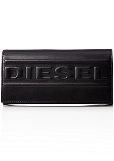 Diesel Men's BOLDED 24 A Day P-Wallet & Card Holder black