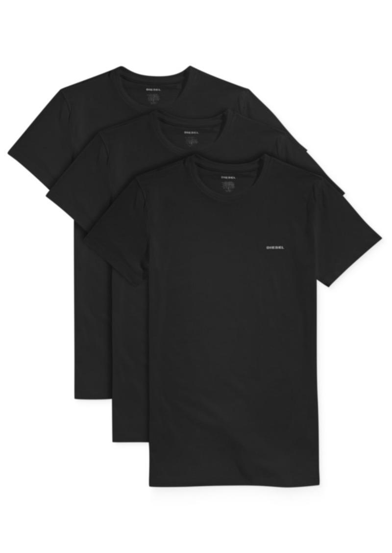 Diesel Men's Crew Neck Undershirts, 3-Pack