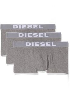 Diesel Men's Essentials 3-Pack Kory Boxer Trunk Grey