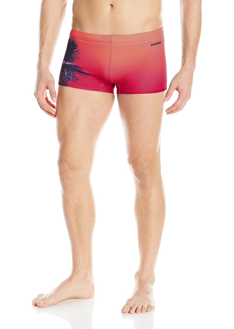 Diesel Men's Hero Lycra Palm Tree Trunk Swim