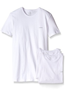 Diesel Men's Jake 3-Pack Essentials Crew Neck T-Shirt
