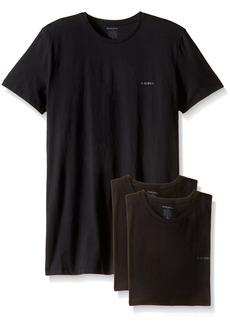 Diesel Men's Jake 3-Pack Essentials Crew Neck T-Shirt