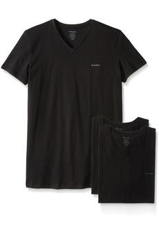 Diesel Men's Jake 3-Pack Essentials V-Neck T-Shirt  XL