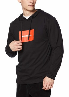 Diesel Men's Jimmy Hooded Long Sleeve T-Shirt