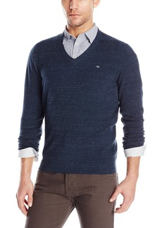 Diesel Men's K-Benti olid V-Neck Pullover weater     mall