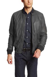 Diesel Men's L-Devra Leather Jacket
