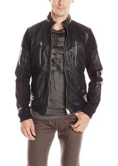 Diesel Men's L-Madara Leather Jacket